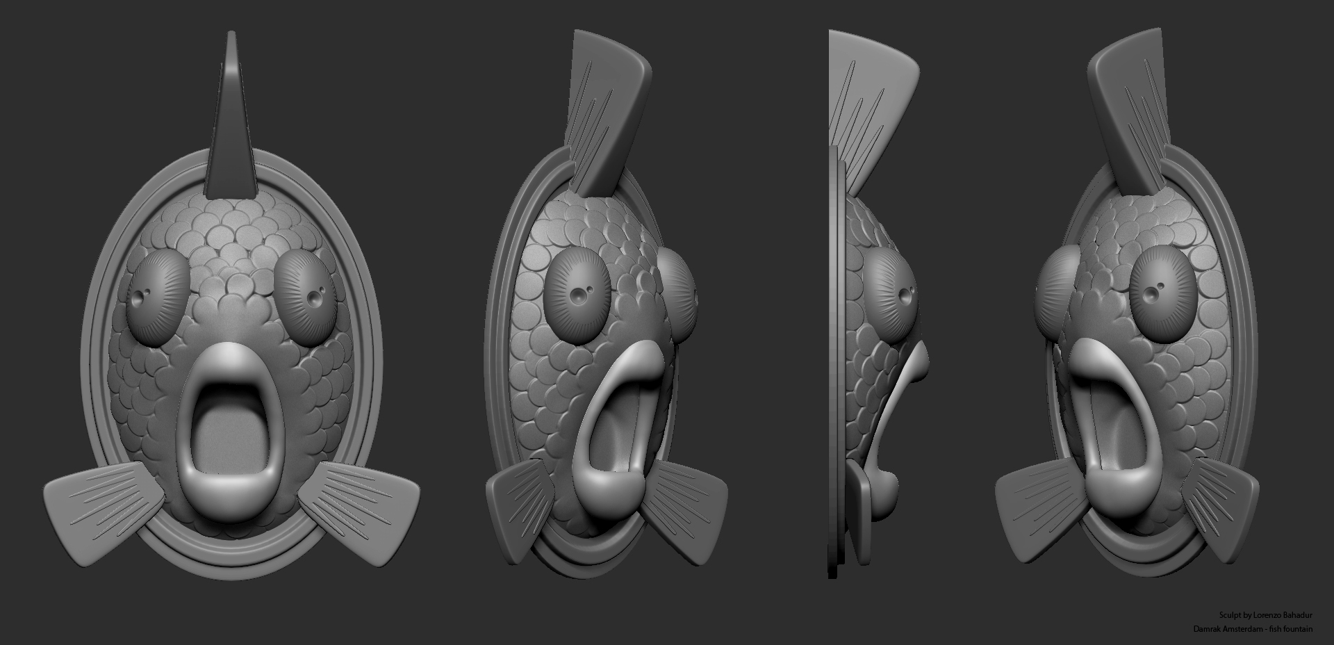 3D Sculpture zbrush grab