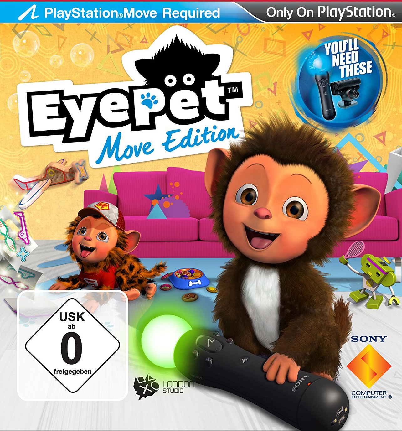 PS3 - Eyepet move