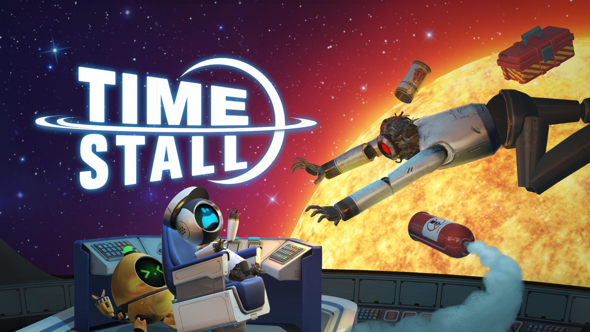 Time Stall banner